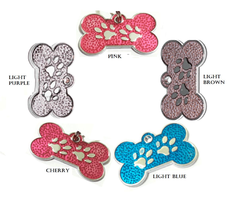 Fingerprint Identification For Pet Various Colors 15 * 26mm – Alloy